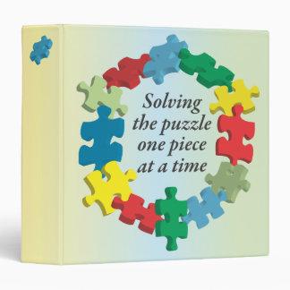 """Solucionando el arco iris 1,5"""" del rompecabezas… carpeta 1 1/2"""""""