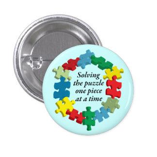Solucionar al Lt del rompecabezas…. Botón azul