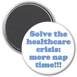 Solucionar el proceso de la atención sanitaria imán redondo 7 cm