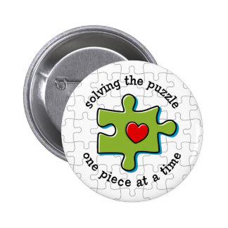 Solucionar el Puzzlement Pin Redondo 5 Cm