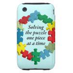 Solucionar la caja dura azul del iPhone 3G/3GS del Tough iPhone 3 Protectores