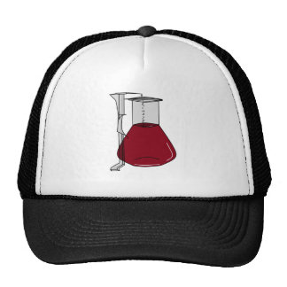 Soluciones de los tubos de ensayo de los cubiletes gorras