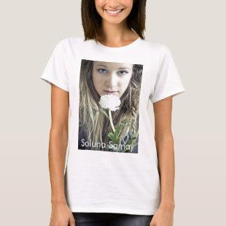 Soluna Samay White Flower T-Shirt