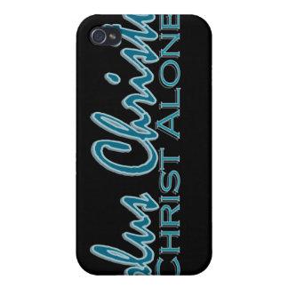 Solus Christus~ Cristo solamente iPhone 4 Fundas
