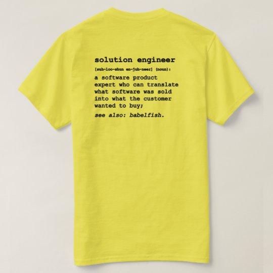 Solution Engineer ver 2.1 T-Shirt