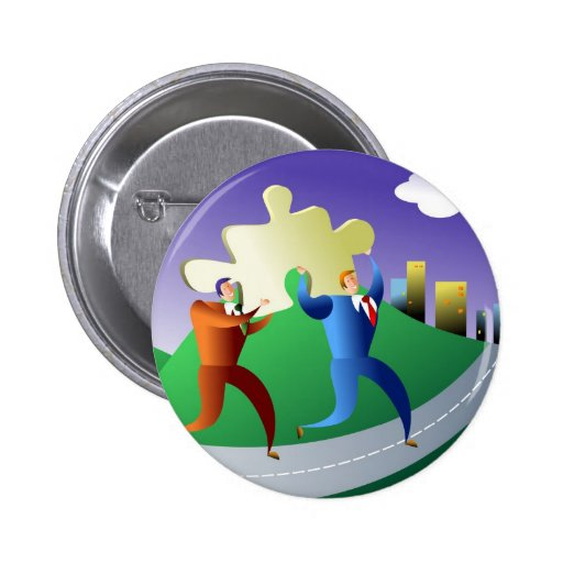 Solution Pinback Buttons