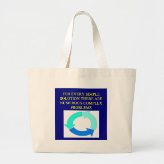 solutions and problems proverbs canvas bags