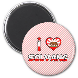 Solvang, CA 2 Inch Round Magnet