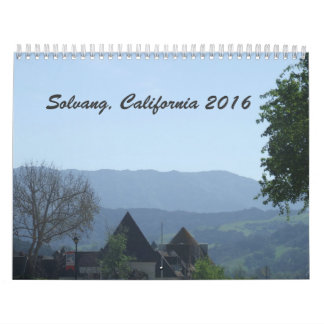 Solvang California 2016 Calendar