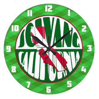 Solvang California Denmark Wall Clock
