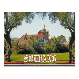 Solvang California Postcard