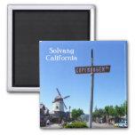 Solvang Magnet! 2 Inch Square Magnet