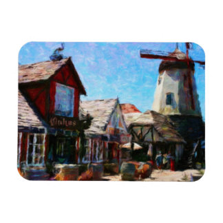 Solvang Windmill Magnet