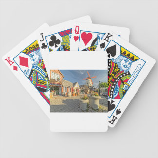 Solvang Windmill View Bicycle Playing Cards