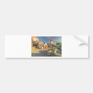 Solvang Windmill View Bumper Sticker