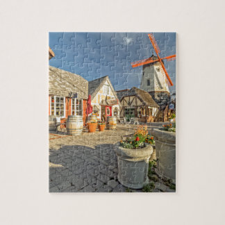 Solvang Windmill View Puzzle