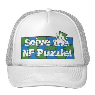 Solve The NF Puzzle Trucker Hat