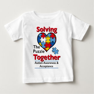 Solving the Puzzle - Autism Awareness Baby T-Shirt