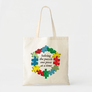 Solving the Puzzle...Bag Tote Bag