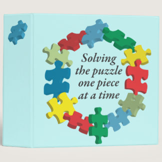 """Solving the Puzzle...Blue 2"""" Binder"""