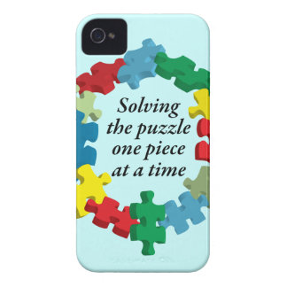 Solving the Puzzle...Blue Blackberry Bold Case
