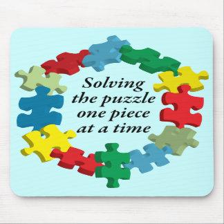 Solving the Puzzle... Blue Mousepad