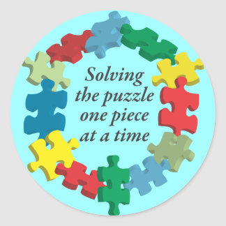 Solving the Puzzle...Blue Stickers