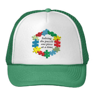 Solving the Puzzle...Hat Trucker Hat