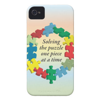 Solving the Puzzle...iPhone4 Rainbow Barely There Case-Mate iPhone 4 Case