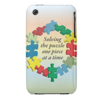 Solving the Puzzle...iPhone 3G/3GS Rainbow Bar Thr iPhone 3 Case-Mate Case