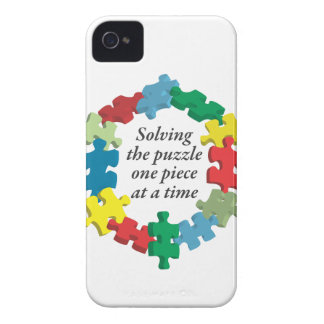 Solving the Puzzle...iPhone 4 White Barely There iPhone 4 Case