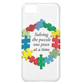 Solving the Puzzle...iPhone 5 White Barely There iPhone 5C Case