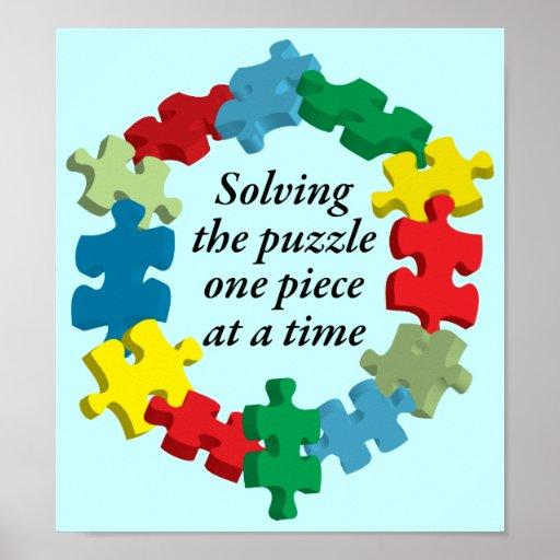 Solving the Puzzle...Poster Art Lt. Blue