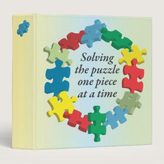 "Solving the Puzzle...Rainbow 1.5"" Binder"