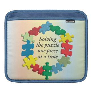 Solving the Puzzle...Rainbow iPad Sleeve
