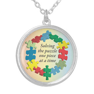Solving the Puzzle...Rainbow Necklace