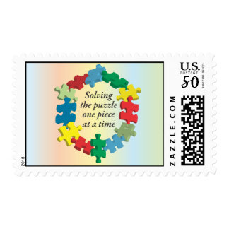 Solving the Puzzle...Rainbow Postage Stamps