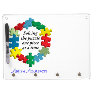 Solving the Puzzle...White Dry Erase Board