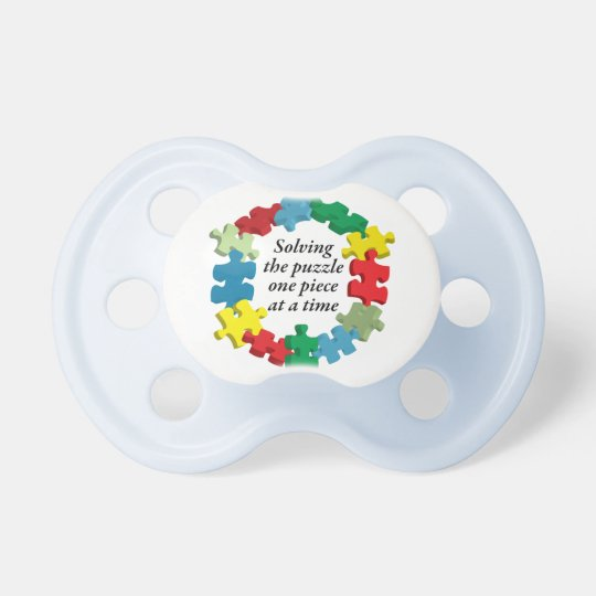 Solving the Puzzle...White Pacifier