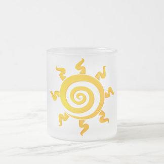 Solycafé Frosted Glass Coffee Mug