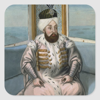 Solyman II (1642-91) Sultan 1687-91, from 'A Serie Square Sticker