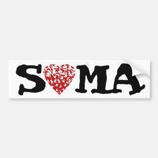 Soma Bumper Sticker | Feldenkrais Heart Figures