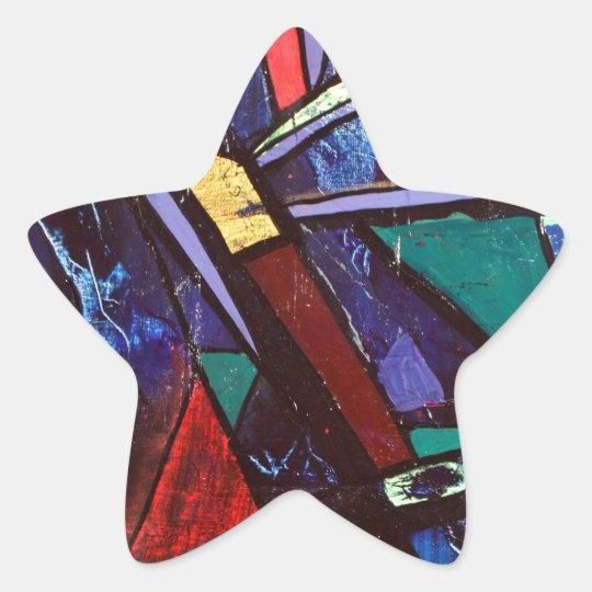 Soma original acrylic star sticker