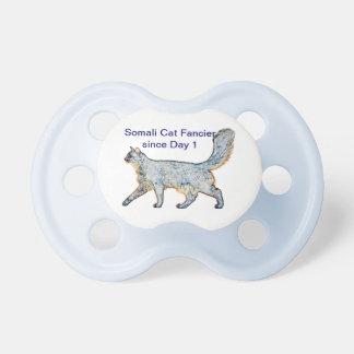 Somali Cat Boy Pacifier