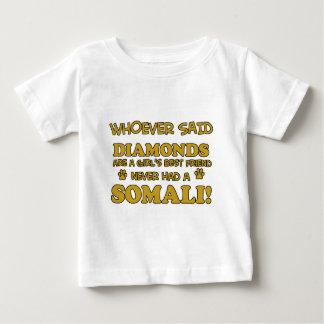 Somali cat breed designs baby T-Shirt