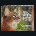 "Somali Cat, Starring Summer Samba 2018 Calendar<br><div class=""desc"">Are you ready for 2018? You will be with Summer Samba&#39;s wall calendar with all new fun photos! Summer&#39;s pretty face and whimsical poses are the perfect gift for any cat lover. Don&#39;t save the date - get it now!</div>"