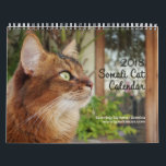 """Somali Cat, Starring Summer Samba 2018 Calendar<br><div class=""""desc"""">Are you ready for 2018? You will be with Summer Samba&#39;s wall calendar with all new fun photos! Summer&#39;s pretty face and whimsical poses are the perfect gift for any cat lover. Don&#39;t save the date - get it now!</div>"""