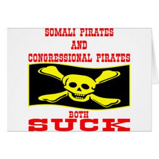 Somali & Congressional Pirates Both Suck Card