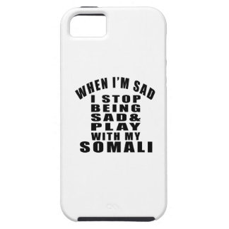 SOMALI COOL CAT DESIGNS iPhone 5 COVERS