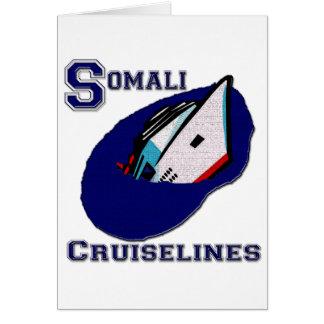 Somali Cruiselines Greeting Card